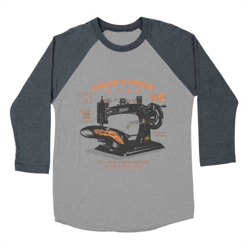 sewing Men's Baseball Triblend T-Shirt by micronisus's Artist Shop