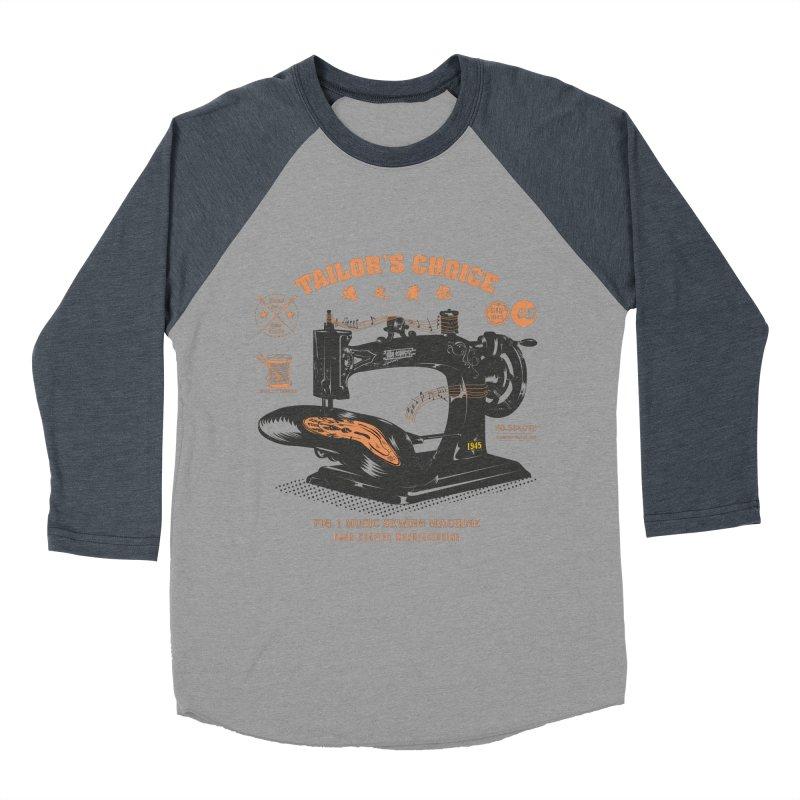 sewing Men's Baseball Triblend Longsleeve T-Shirt by micronisus's Artist Shop
