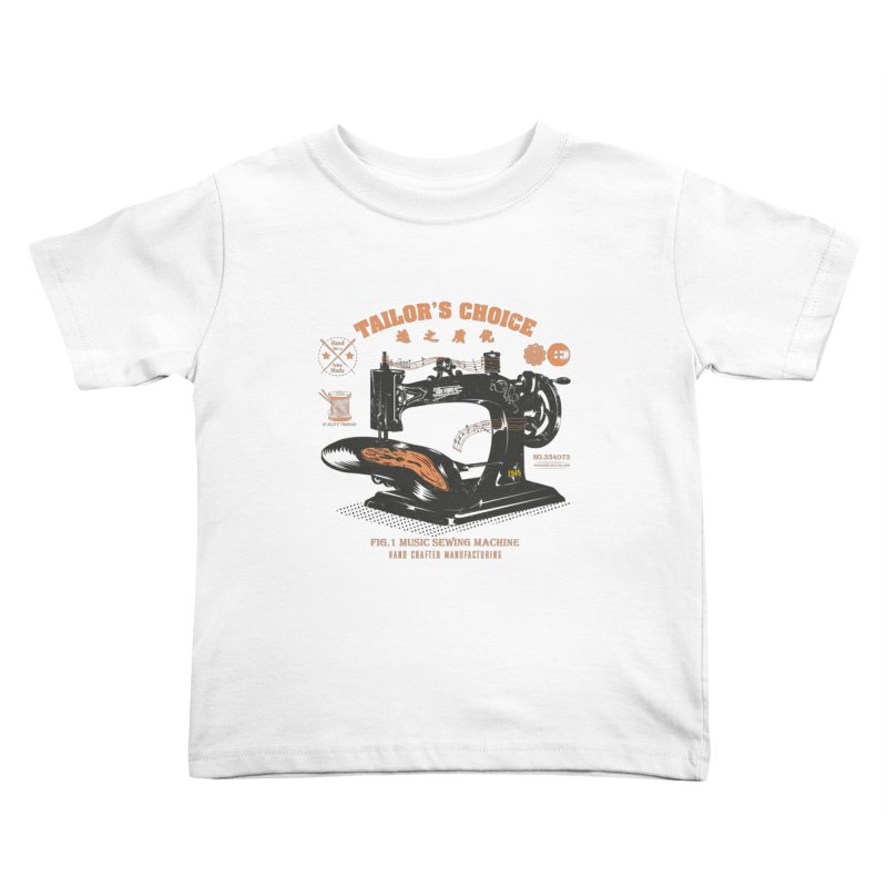 sewing Kids Toddler T-Shirt by micronisus's Artist Shop