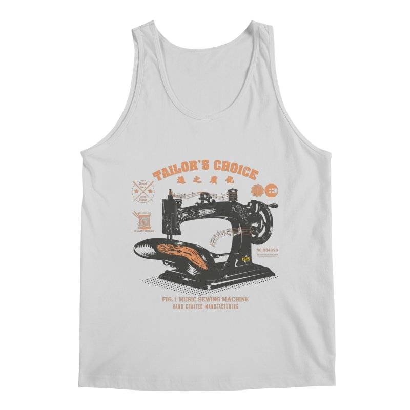 sewing Men's Regular Tank by micronisus's Artist Shop