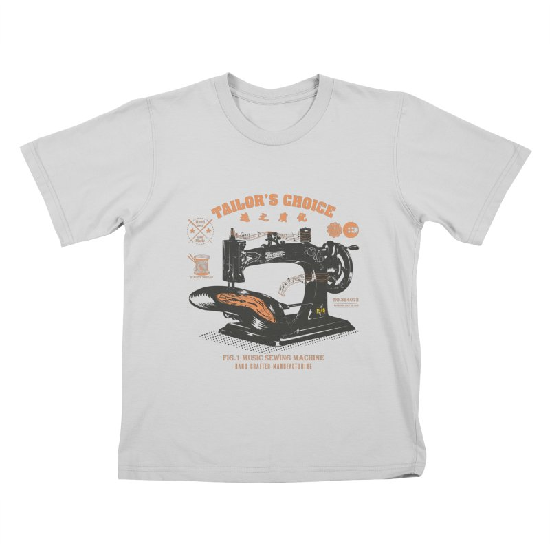 sewing Kids T-Shirt by micronisus's Artist Shop