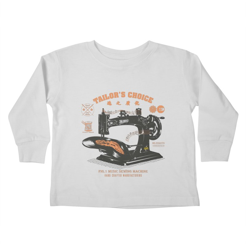 sewing Kids Toddler Longsleeve T-Shirt by micronisus's Artist Shop