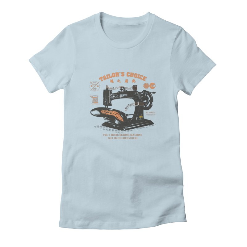sewing Women's T-Shirt by micronisus's Artist Shop