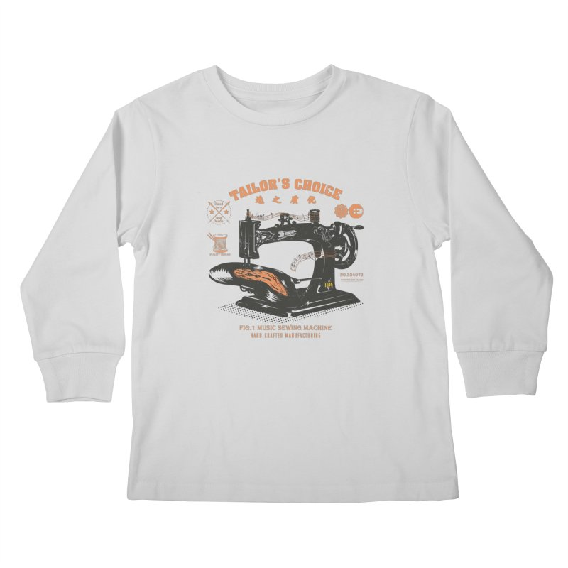 sewing Kids Longsleeve T-Shirt by micronisus's Artist Shop