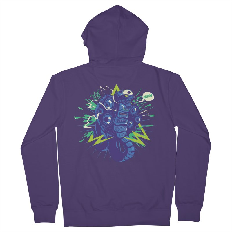 Hi-Fi Women's Zip-Up Hoody by micronisus's Artist Shop