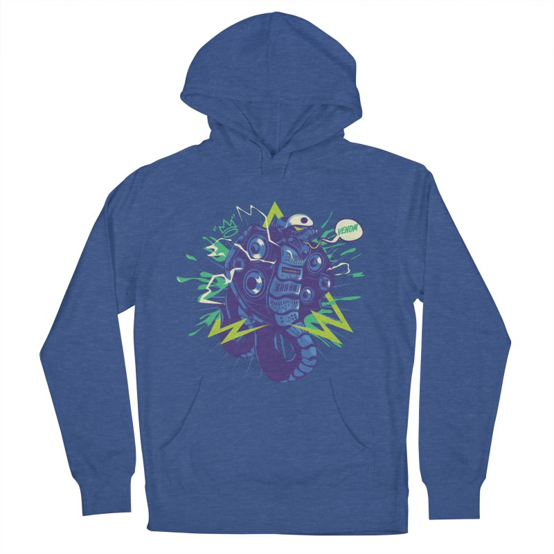 Hi-Fi Women's French Terry Pullover Hoody by micronisus's Artist Shop