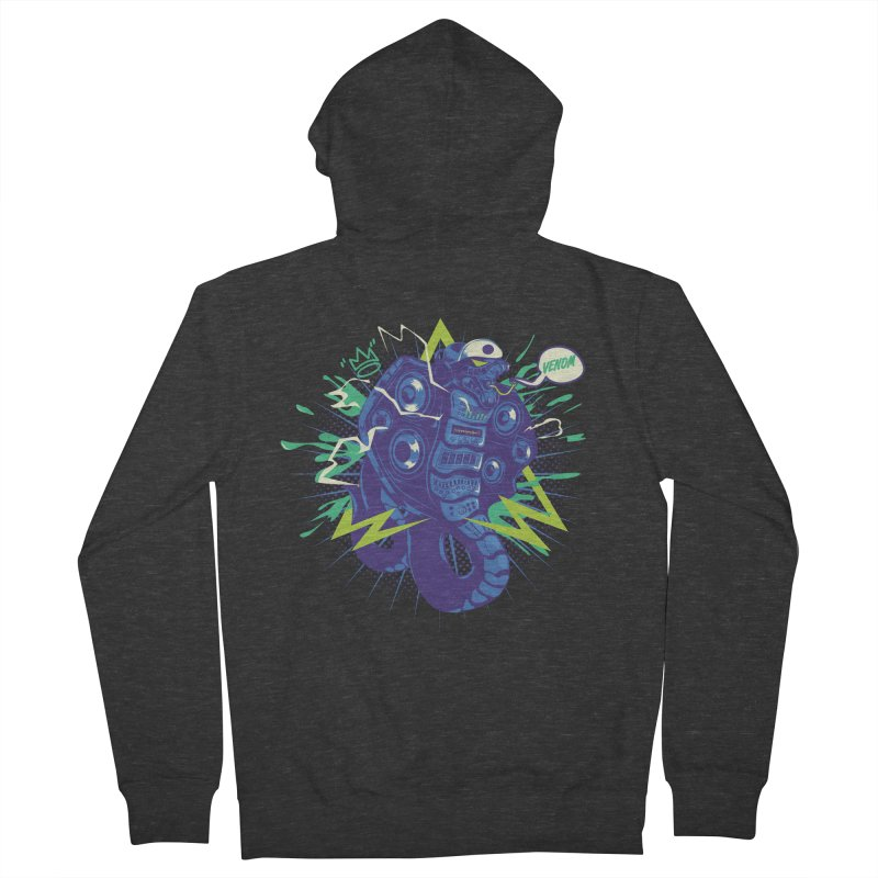 Hi-Fi Men's French Terry Zip-Up Hoody by micronisus's Artist Shop