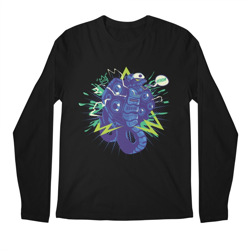 Hi-Fi Men's Regular Longsleeve T-Shirt by micronisus's Artist Shop