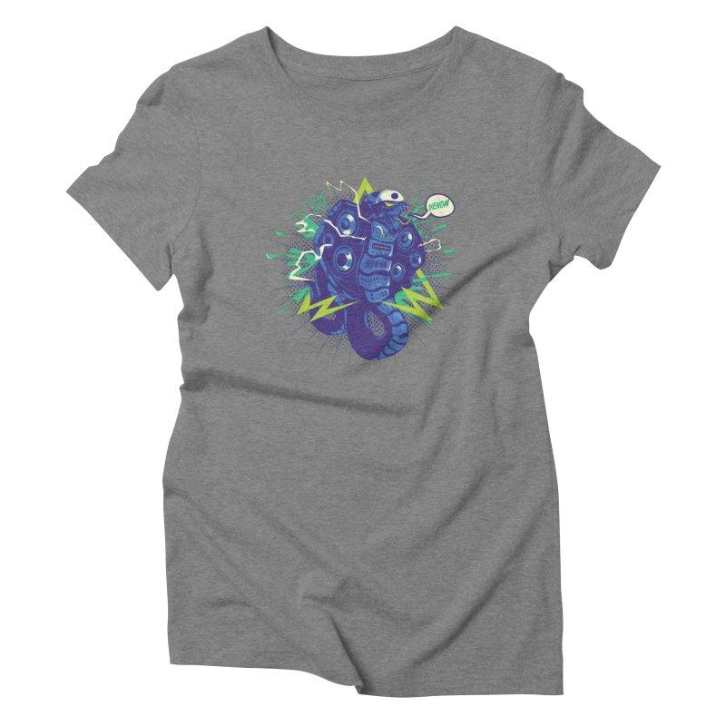 Hi-Fi Women's T-Shirt by micronisus's Artist Shop