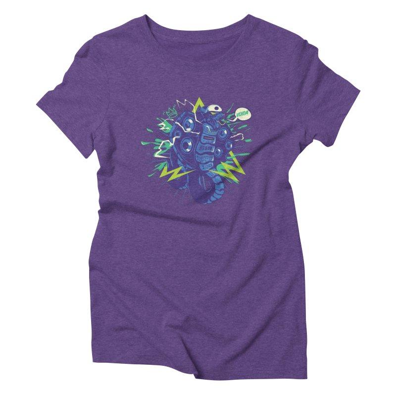 Hi-Fi Women's Triblend T-Shirt by micronisus's Artist Shop