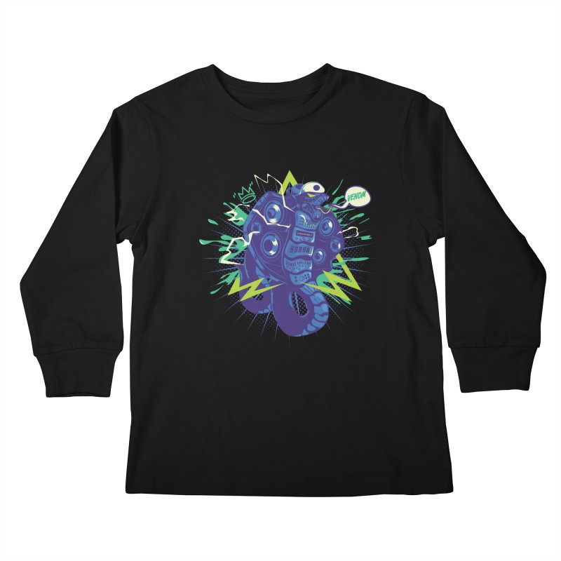 Hi-Fi Kids Longsleeve T-Shirt by micronisus's Artist Shop