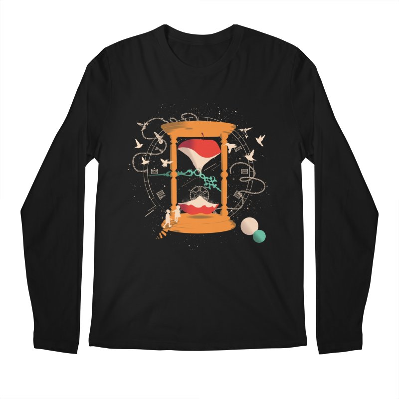 The time we spent together Men's Regular Longsleeve T-Shirt by micronisus's Artist Shop