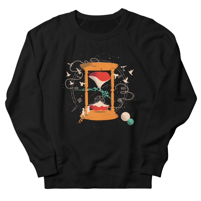 The time we spent together Women's French Terry Sweatshirt by micronisus's Artist Shop
