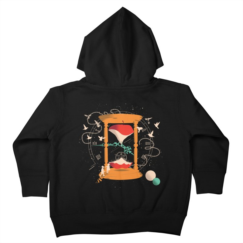 The time we spent together Kids Toddler Zip-Up Hoody by micronisus's Artist Shop