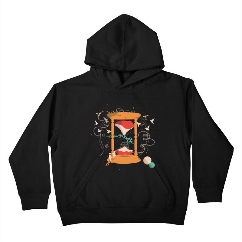 The time we spent together Kids Pullover Hoody by micronisus's Artist Shop