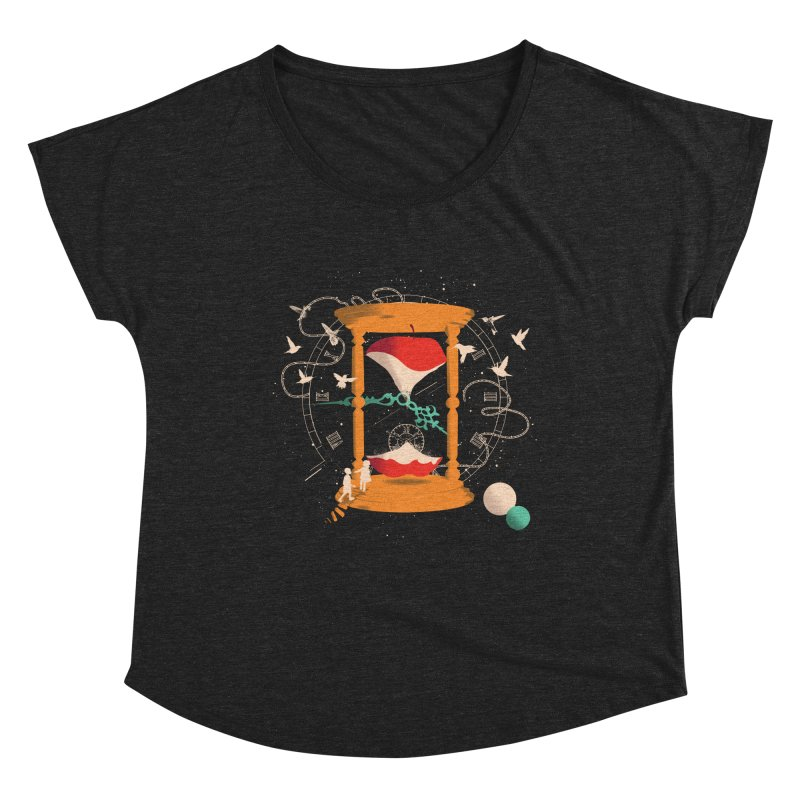 The time we spent together Women's Dolman Scoop Neck by micronisus's Artist Shop