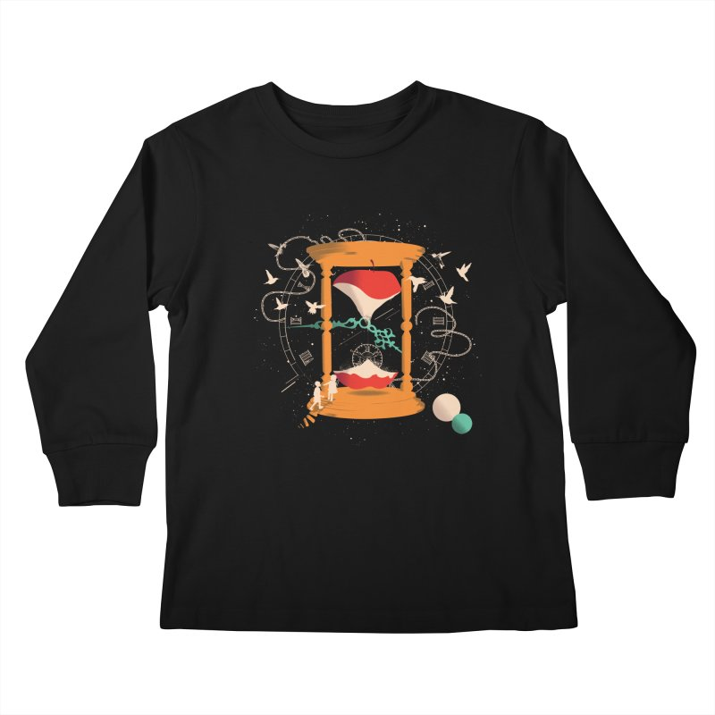 The time we spent together Kids Longsleeve T-Shirt by micronisus's Artist Shop