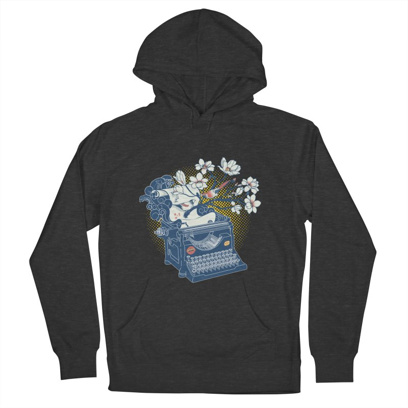 Blossom Men's French Terry Pullover Hoody by micronisus's Artist Shop