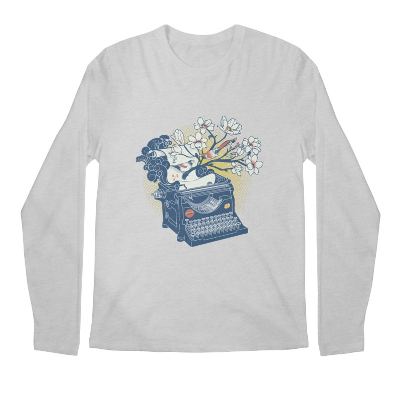 Blossom Men's Longsleeve T-Shirt by micronisus's Artist Shop
