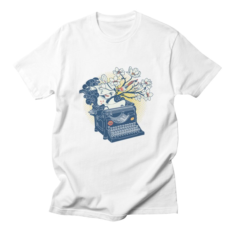 Blossom Men's Regular T-Shirt by micronisus's Artist Shop
