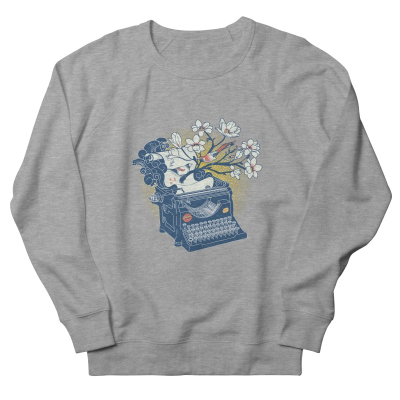 Blossom Women's French Terry Sweatshirt by micronisus's Artist Shop