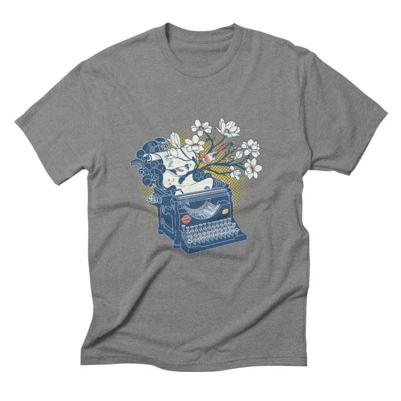 Blossom Men's Triblend T-Shirt by micronisus's Artist Shop