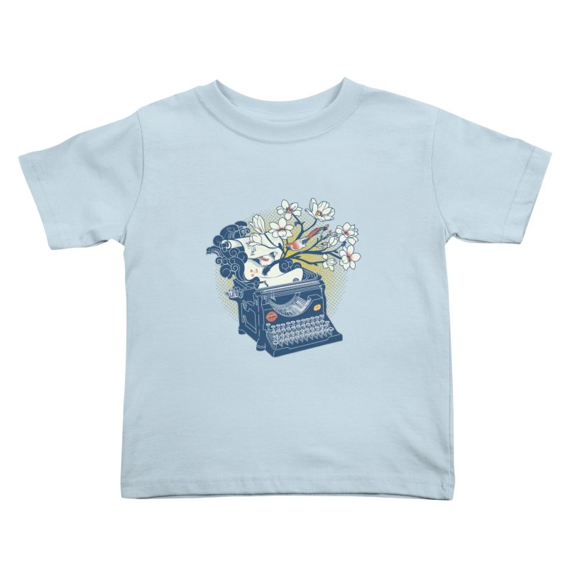 Blossom Kids Toddler T-Shirt by micronisus's Artist Shop