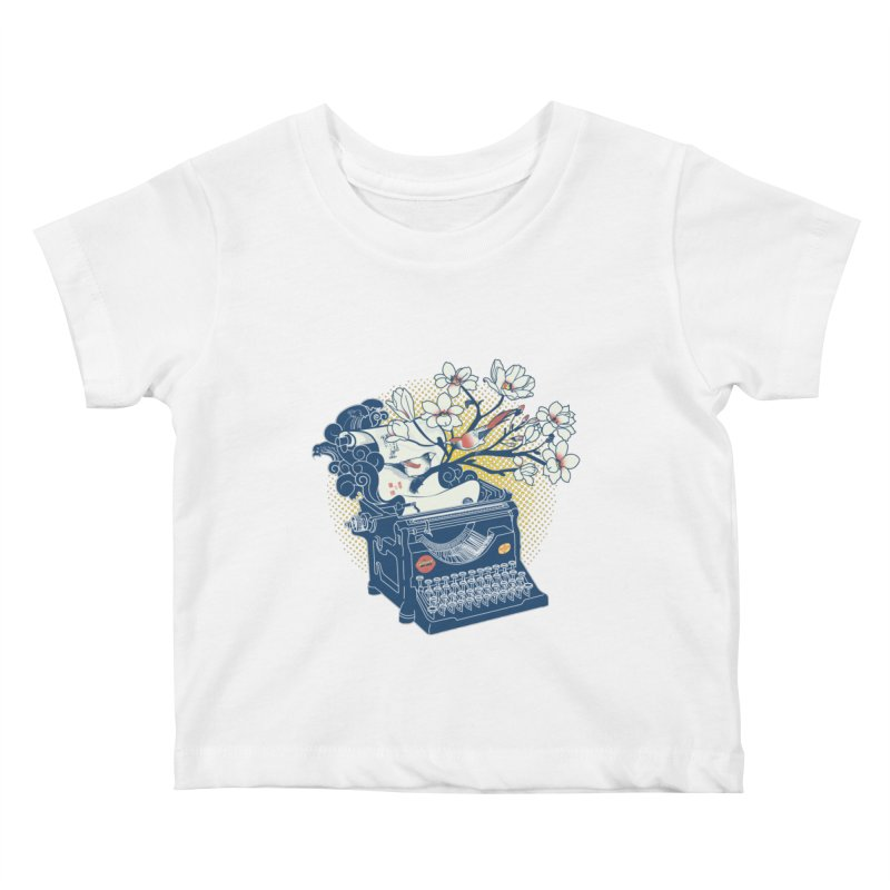 Blossom Kids Baby T-Shirt by micronisus's Artist Shop