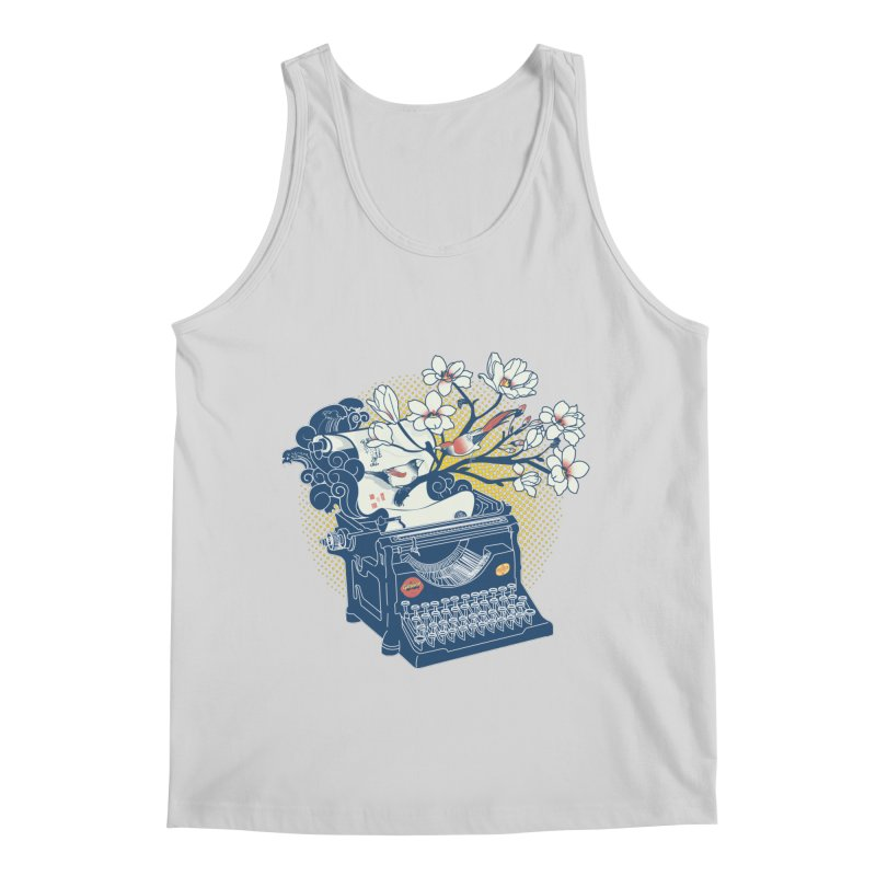 Blossom Men's Regular Tank by micronisus's Artist Shop