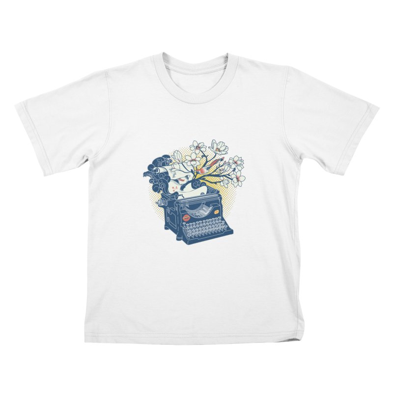 Blossom Kids T-Shirt by micronisus's Artist Shop