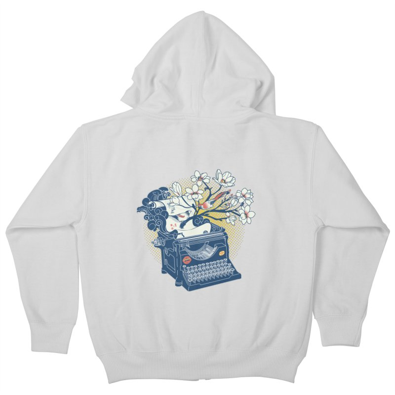 Blossom Kids Zip-Up Hoody by micronisus's Artist Shop