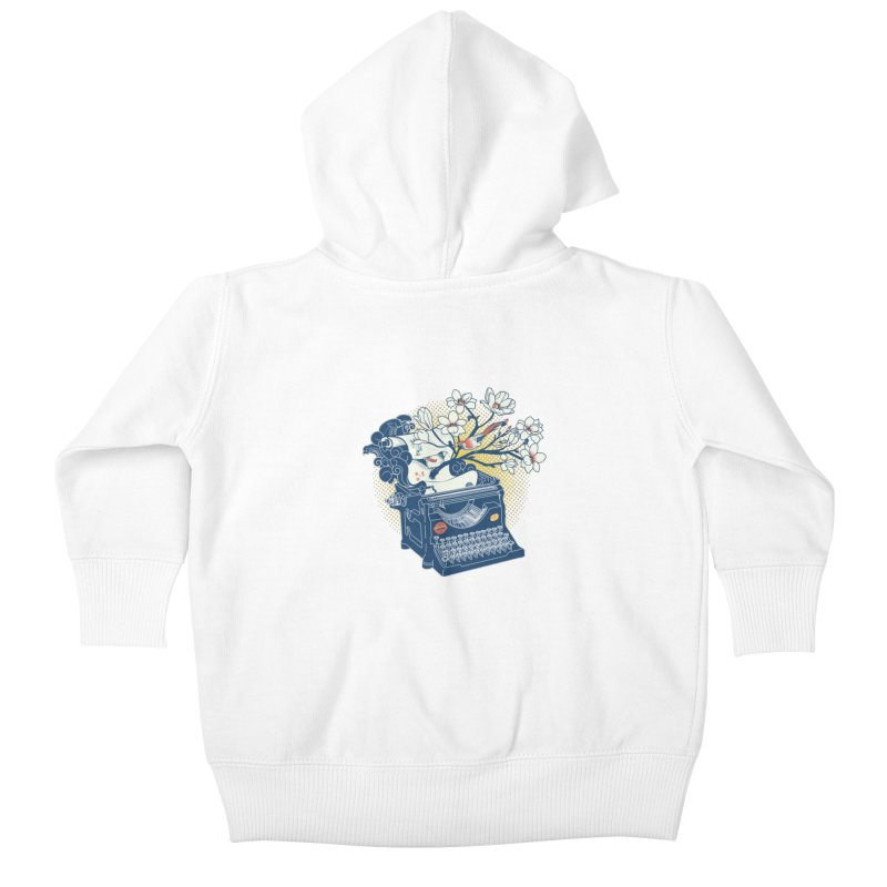 Blossom Kids Baby Zip-Up Hoody by micronisus's Artist Shop