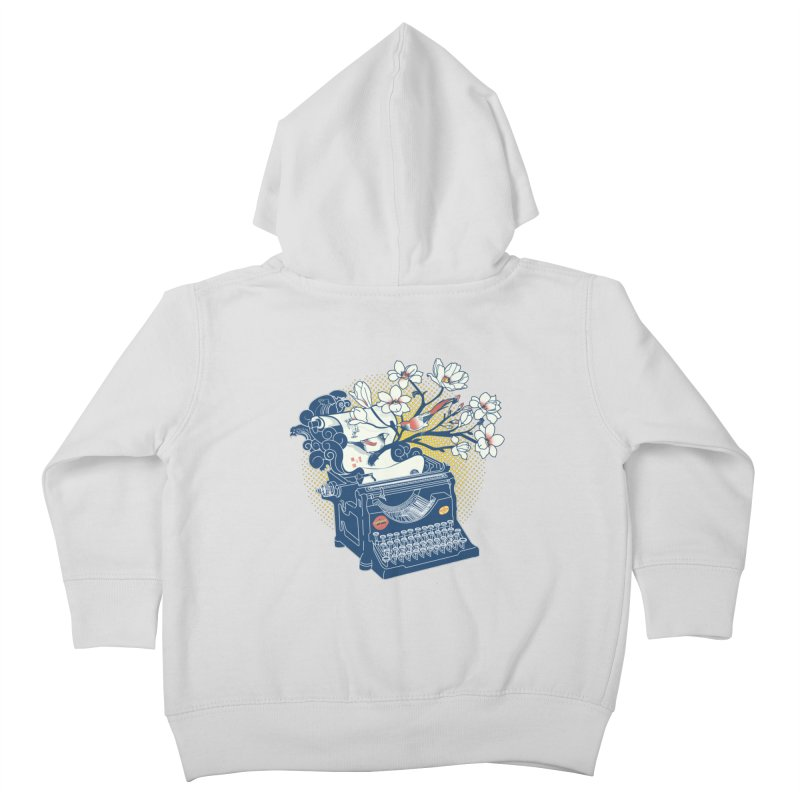 Blossom Kids Toddler Zip-Up Hoody by micronisus's Artist Shop