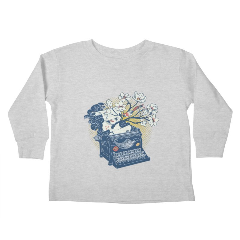 Blossom Kids Toddler Longsleeve T-Shirt by micronisus's Artist Shop