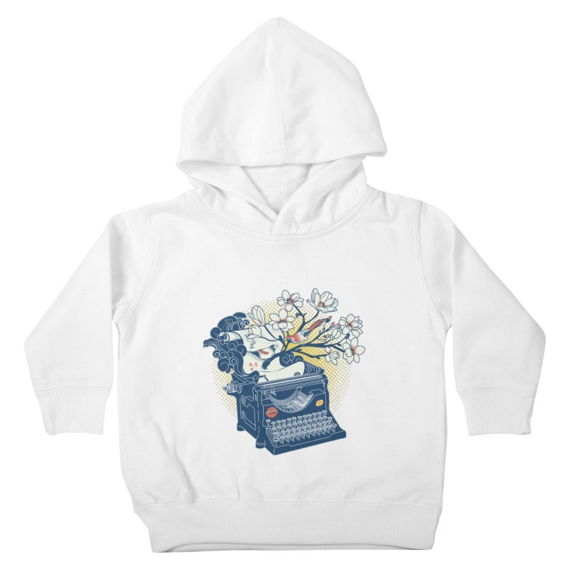 Blossom Kids Toddler Pullover Hoody by micronisus's Artist Shop