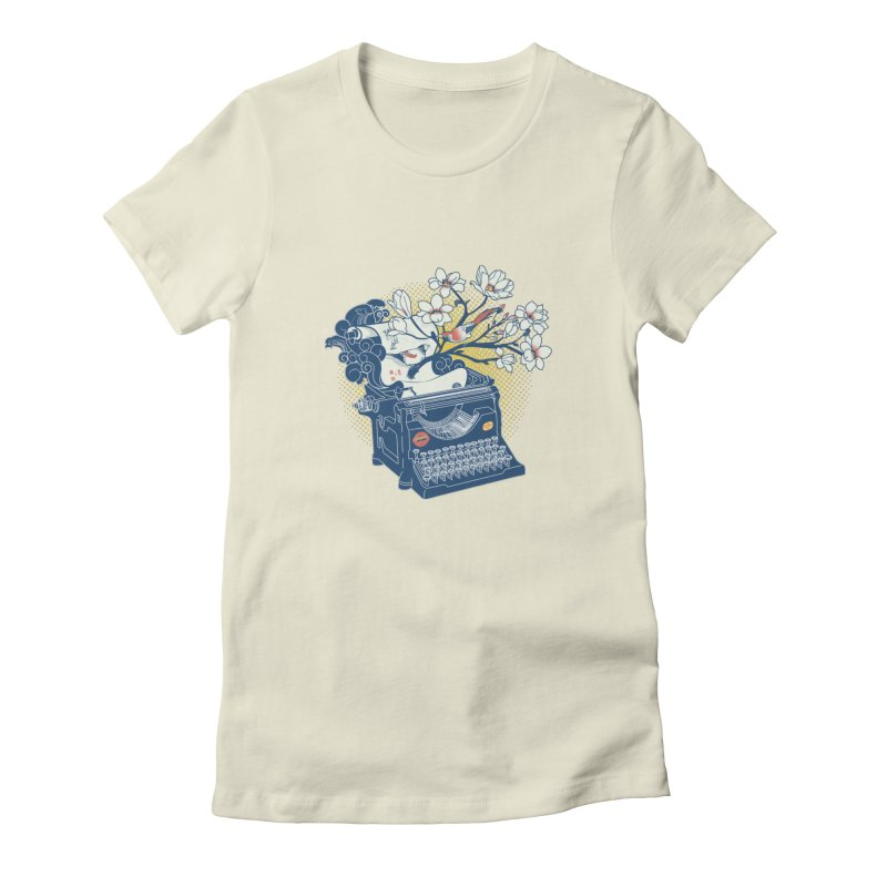 Blossom Women's T-Shirt by micronisus's Artist Shop