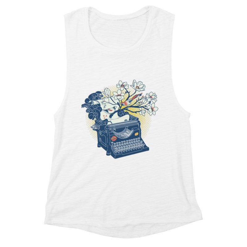 Blossom Women's Tank by micronisus's Artist Shop