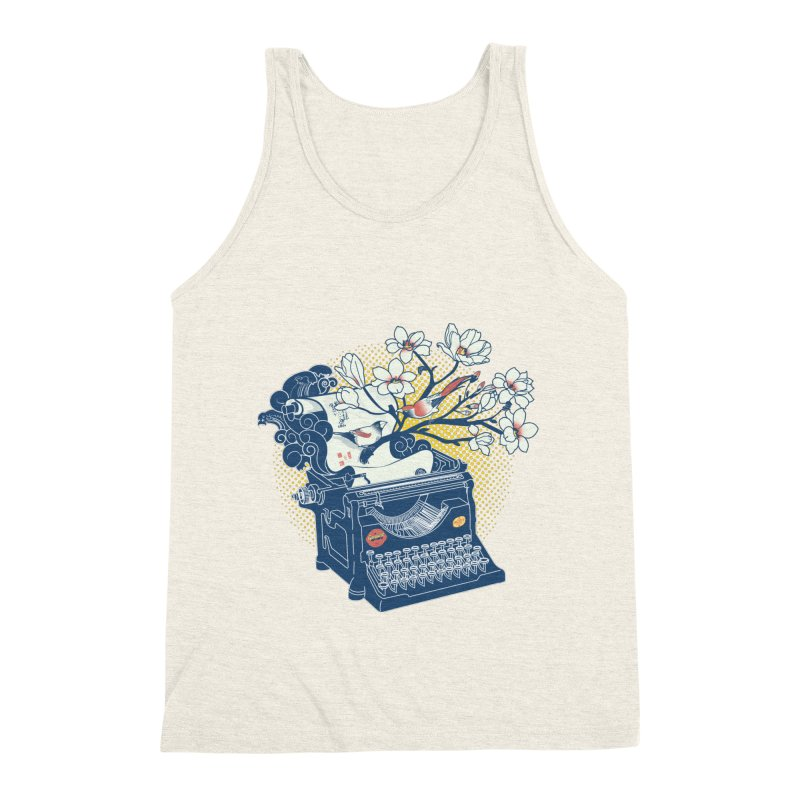 Blossom Men's Tank by micronisus's Artist Shop
