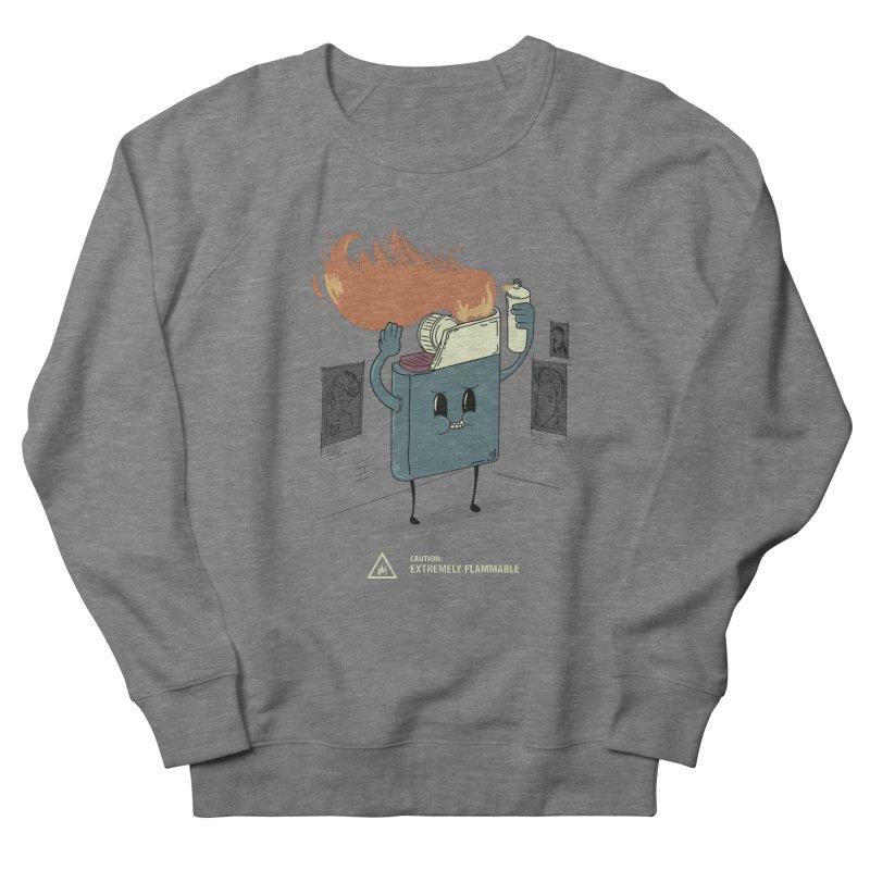 Spray Women's French Terry Sweatshirt by micronisus's Artist Shop