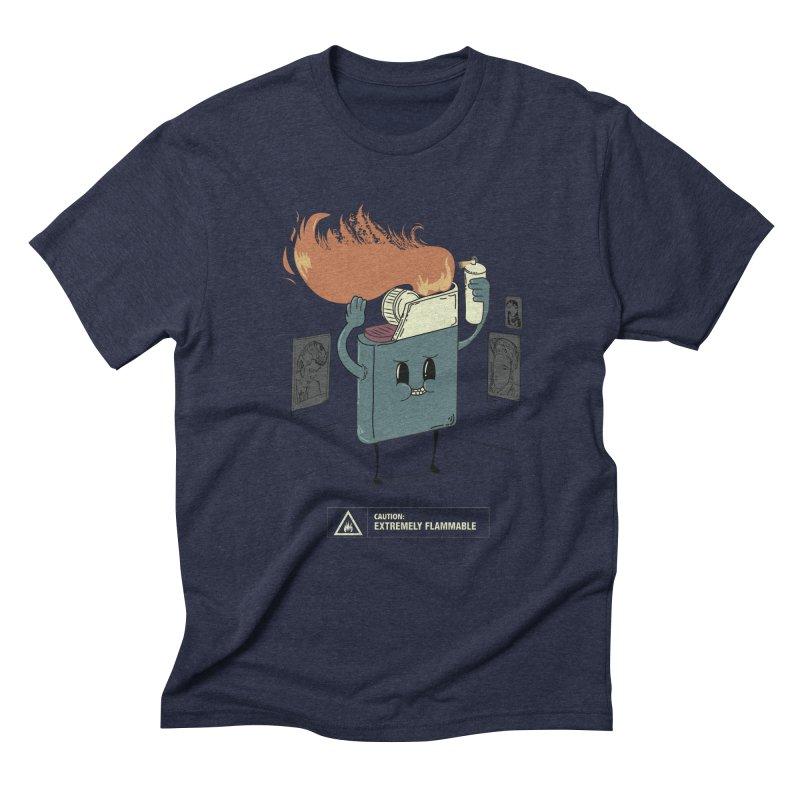 Spray Men's Triblend T-Shirt by micronisus's Artist Shop