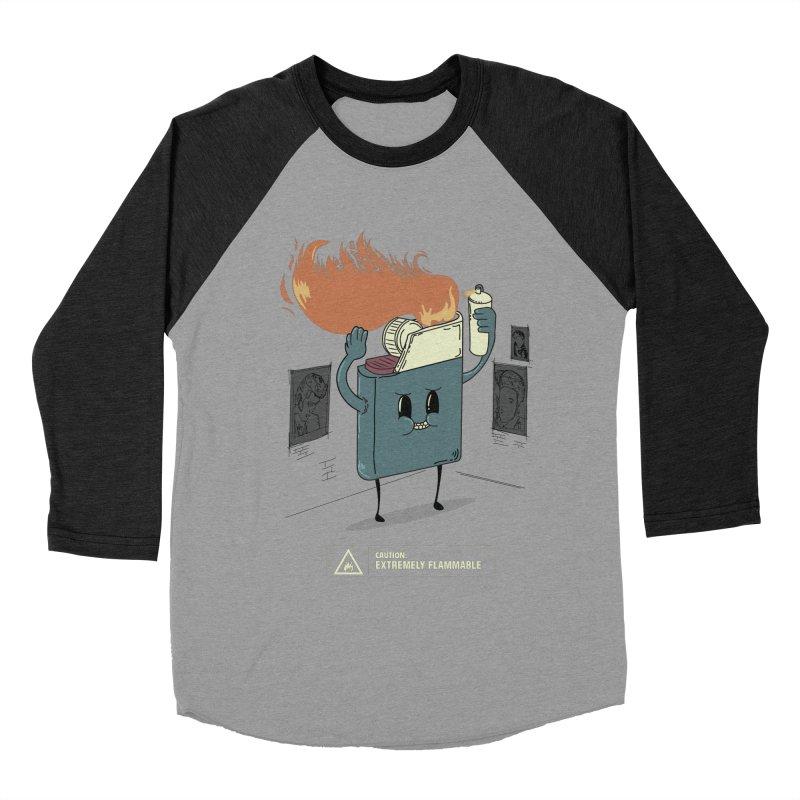 Spray Women's Baseball Triblend Longsleeve T-Shirt by micronisus's Artist Shop