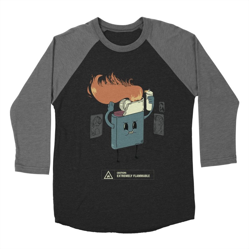 Spray Men's Baseball Triblend Longsleeve T-Shirt by micronisus's Artist Shop