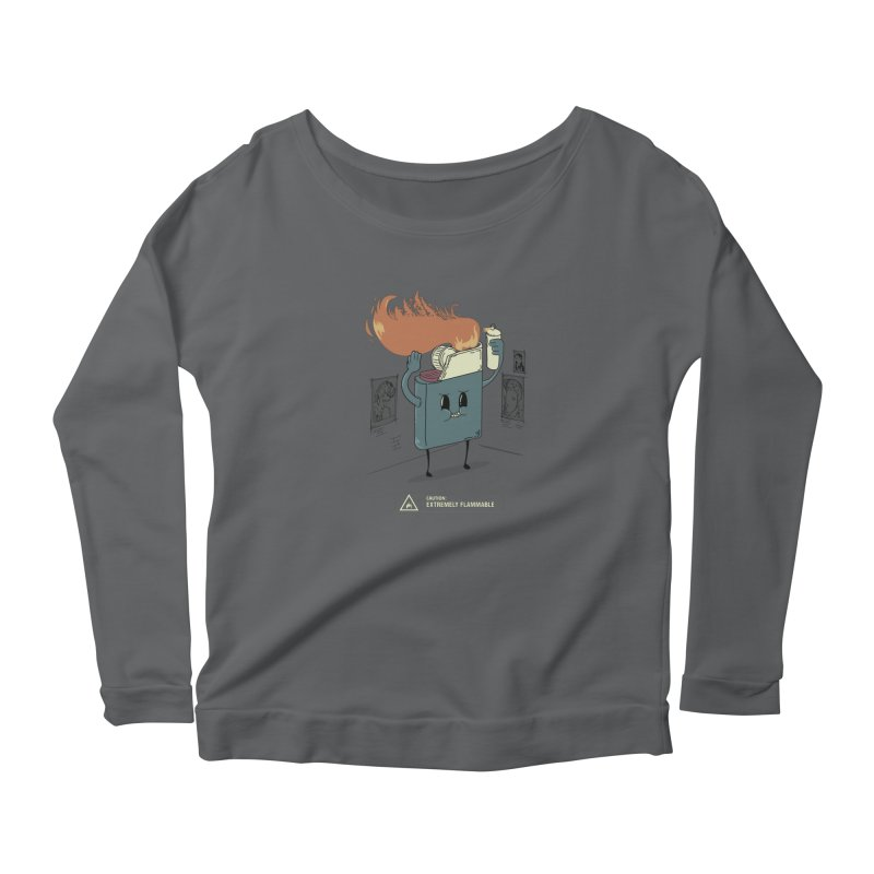 Spray Women's Longsleeve T-Shirt by micronisus's Artist Shop