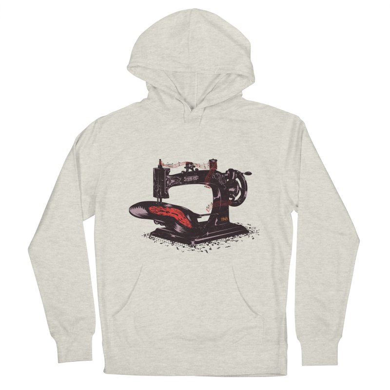 Sew Men's Pullover Hoody by micronisus's Artist Shop