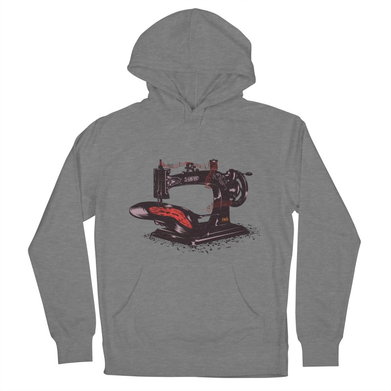 Sew Men's French Terry Pullover Hoody by micronisus's Artist Shop