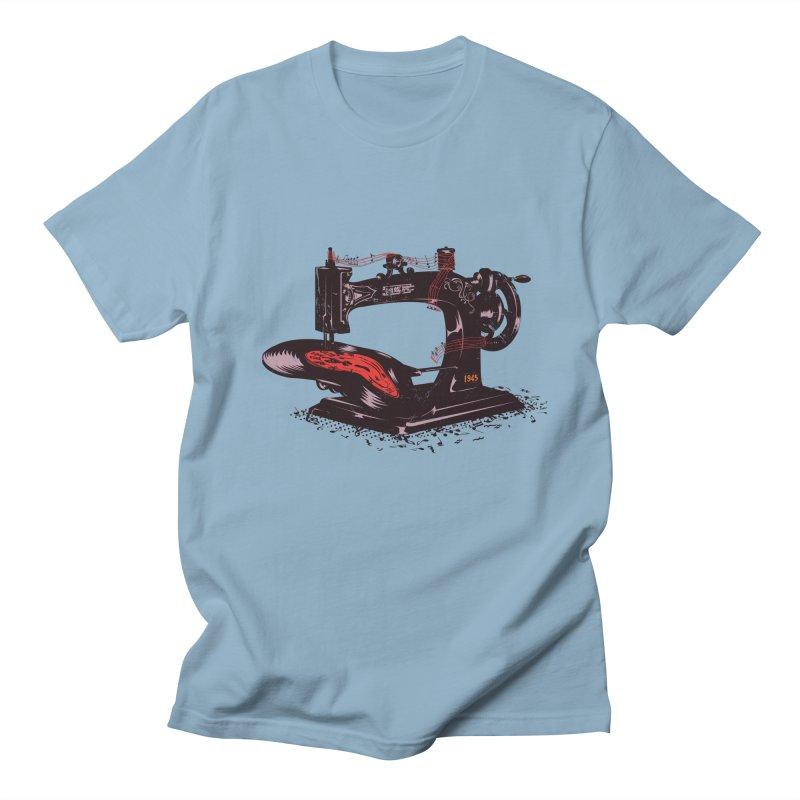 Sew Men's Regular T-Shirt by micronisus's Artist Shop