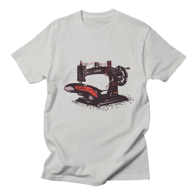 Sew Men's T-Shirt by micronisus's Artist Shop