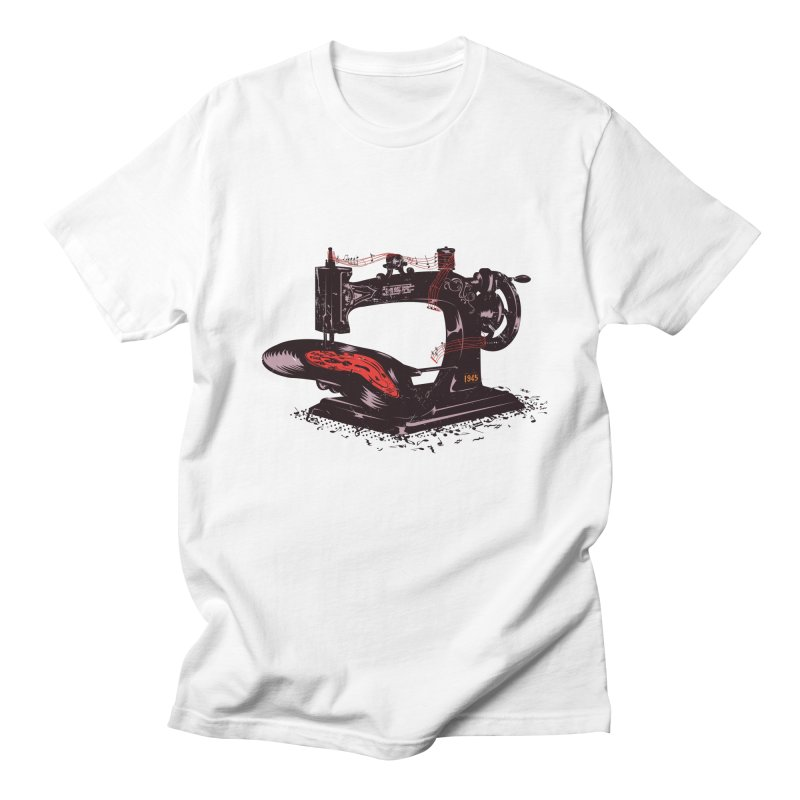 Sew Men's Regular T-Shirt by micronisus's Artist Shop