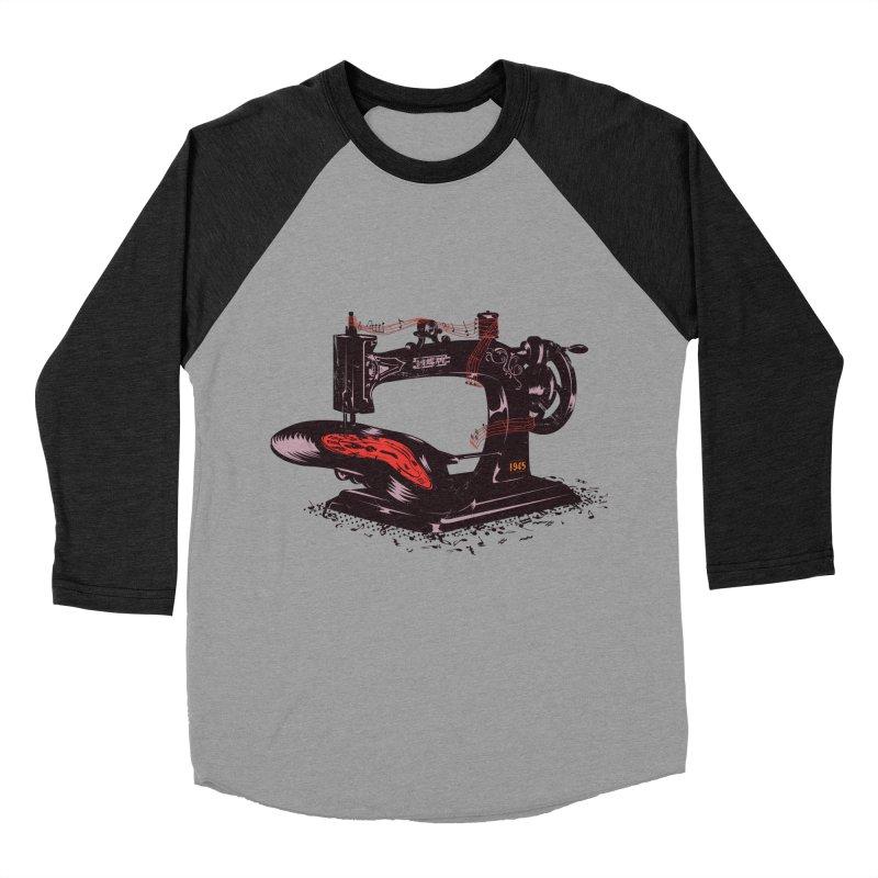 Sew Men's Baseball Triblend Longsleeve T-Shirt by micronisus's Artist Shop