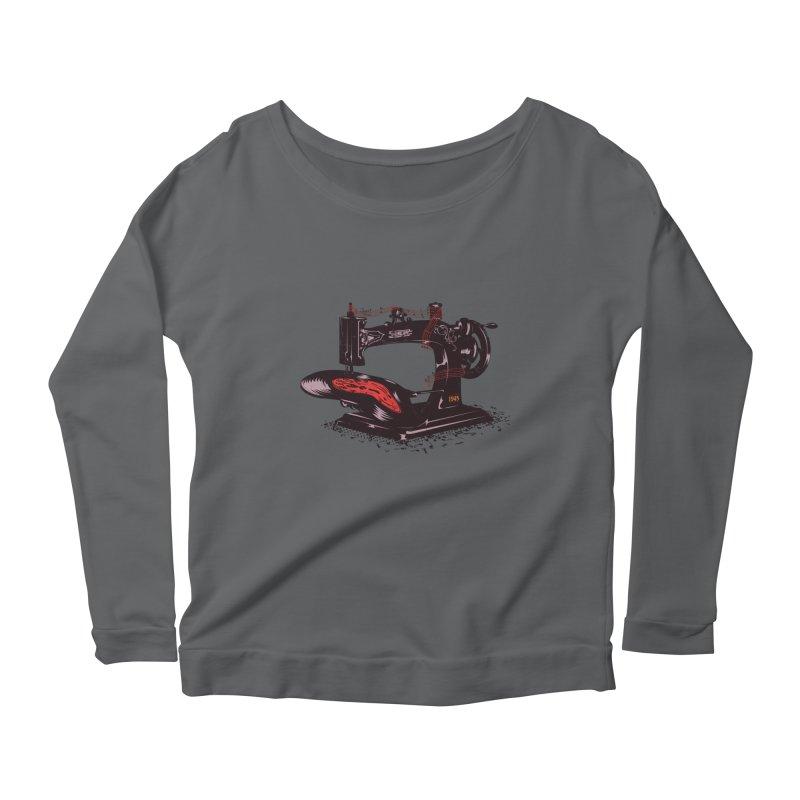 Sew Women's Longsleeve T-Shirt by micronisus's Artist Shop
